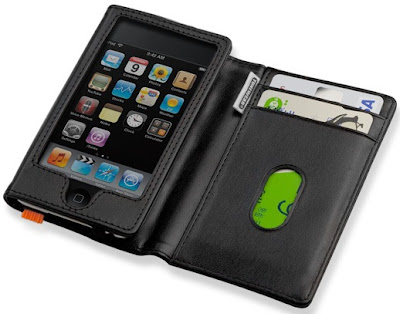 TUNEWALLET Leather iPod Touch cases